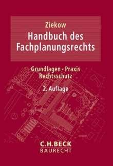 Handbuch des Fachplanungsrechts, Buch