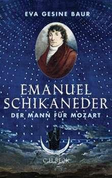 Eva Gesine Baur: Emanuel Schikaneder, Buch