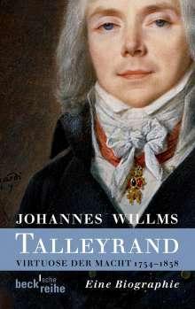 Johannes Willms: Talleyrand, Buch