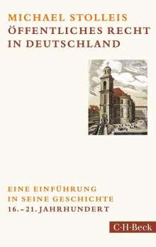 Michael Stolleis: Öffentliches Recht in Deutschland, Buch