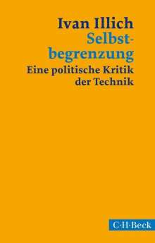 Ivan Illich: Selbstbegrenzung, Buch
