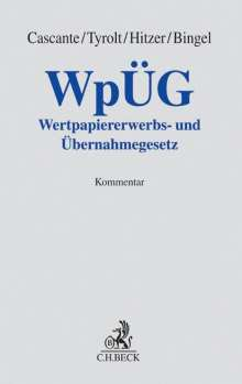 WpÜG, Buch