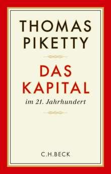 Thomas Piketty: Das Kapital im 21. Jahrhundert, Buch