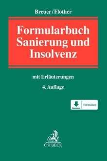 Wolfgang Breuer: Insolvenzrechts-Formularbuch, Buch