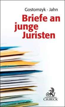 Briefe an junge Juristen, Buch