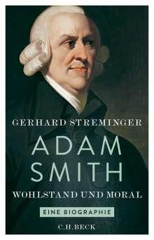 Gerhard Streminger: Adam Smith, Buch