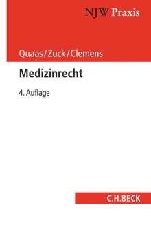 Michael Quaas: Medizinrecht, Buch