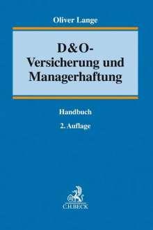 Oliver Lange: D&O-Versicherung und Managerhaftung, Buch