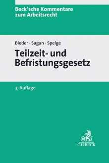 Marcus Bieder: Teilzeit- und Befristungsgesetz, Buch