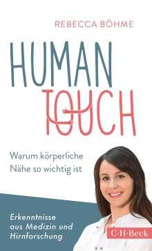 Rebecca Böhme: Human Touch, Buch