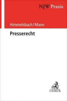 Presserecht, Buch