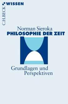 Norman Sieroka: Philosophie der Zeit, Buch