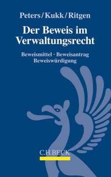 Wilfried Peters: Der Beweis im Verwaltungsrecht, Buch