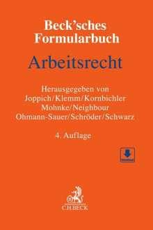 Beck'sches Formularbuch Arbeitsrecht, Buch