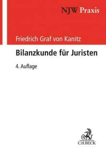 Friedrich Graf von Kanitz: Bilanzkunde für Juristen, Buch