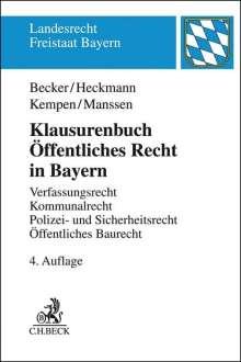 Ulrich Becker: Klausurenbuch Öffentliches Recht in Bayern, Buch
