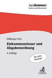Emanuel Dillberger: Einkommensteuer und Abgabenordnung, Buch