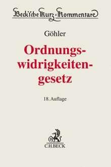 Erich Göhler: Gesetz über Ordnungswidrigkeiten, Buch