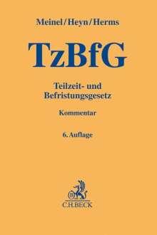 Gernod Meinel: Teilzeit- und Befristungsgesetz, Buch