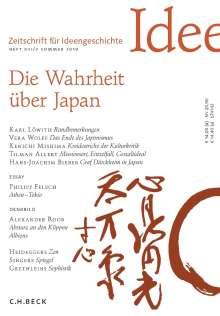 Zeitschrift für Ideengeschichte Heft XIII/2 Sommer 2019, Buch