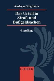 Bernd Rösch: Das Urteil in Straf- und Bußgeldsachen, Buch