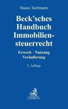 Beck'sches Handbuch Immobiliensteuerrecht, Buch
