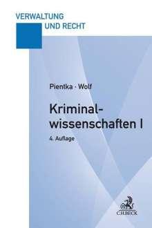 Monika Pientka: Kriminalwissenschaften I, Buch