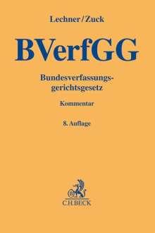 Hans Lechner: Bundesverfassungsgerichtsgesetz, Buch