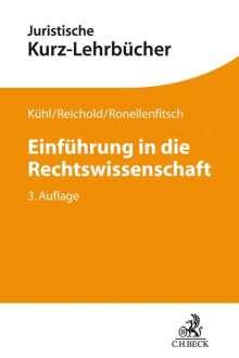 Kristian Kühl: Einführung in die Rechtswissenschaft, Buch