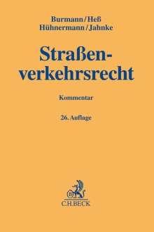 Michael Burmann: Straßenverkehrsrecht, Buch