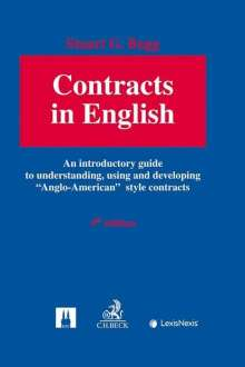 Stuart G. Bugg: Contracts in English, Buch