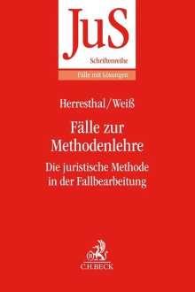 Carsten Herresthal: Fälle zur Methodenlehre, Buch