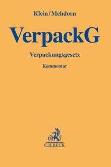 Matthias Klein: VerpackG, Buch
