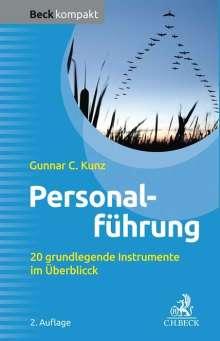 Gunnar C. Kunz: Personalführung, Buch