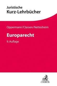 Thomas Oppermann: Europarecht, Buch