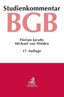 Florian Jacoby: Bürgerliches Gesetzbuch, Buch