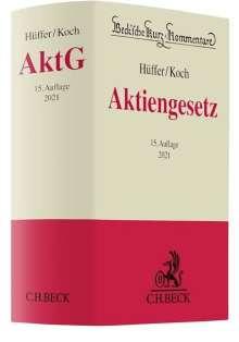 Uwe Hüffer: Aktiengesetz, Buch