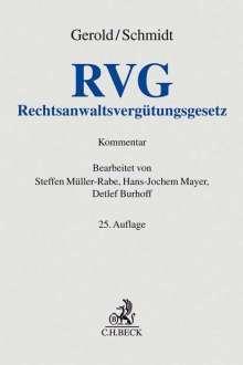 Wilhelm Gerold: Rechtsanwaltsvergütungsgesetz, Buch