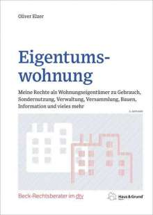 Oliver Elzer: Eigentumswohnung, Buch