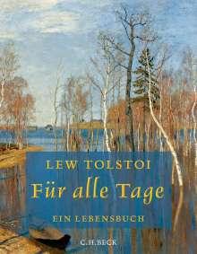 Leo N. Tolstoi: Für alle Tage, Buch