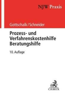 Yvonne Gottschalk: Prozess- und Verfahrenskostenhilfe, Beratungshilfe, Buch