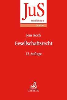 Uwe Hüffer: Gesellschaftsrecht, Buch
