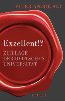 Peter-André Alt: Exzellent!?, Buch