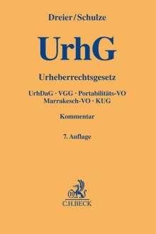 Thomas Dreier: Urheberrechtsgesetz, Buch