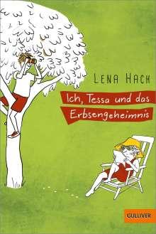 Lena Hach: Ich, Tessa und das Erbsengeheimnis, Buch
