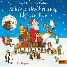 Axel Scheffler: Schöne Bescherung, kleiner Bär, Buch