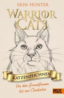 Erin Hunter: Warrior Cats - Katzenzeichnen, Buch