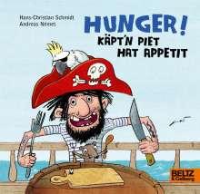 Andreas Német: Hunger! Käpt'n Piet hat Appetit, Buch