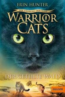 Erin Hunter: Warrior Cats - Der Ursprung der Clans. Der geteilte Wald, Buch