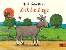 Axel Scheffler: Zick die Ziege, Buch